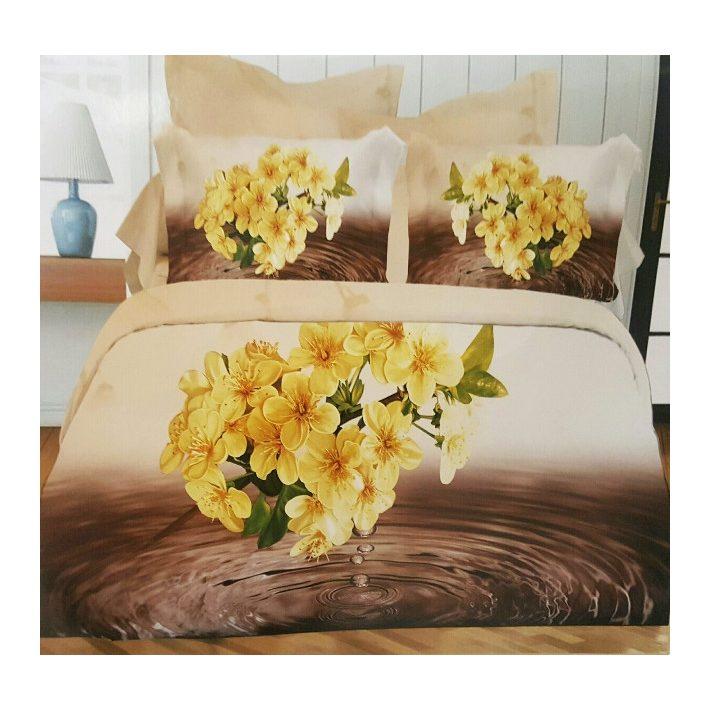 Egy lépés a tökéletes otthon irányába - sárga ágynemű